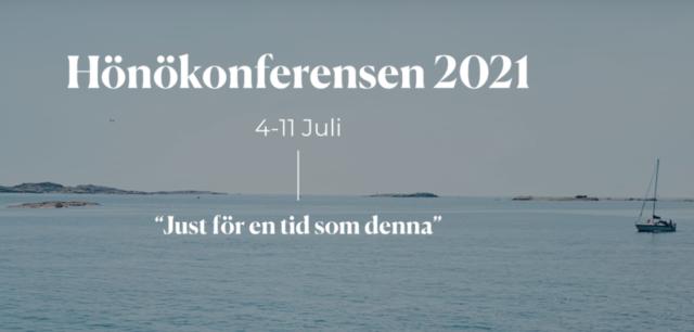 Hönökonferensen 4-11 juli