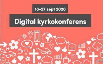 Kyrkokonferensen 2020 hålls digitalt den 18 – 27 september