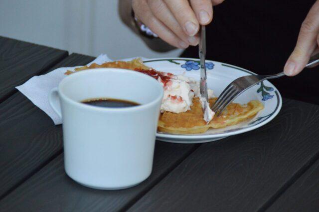 Våffelcafé i Gräfsnäs