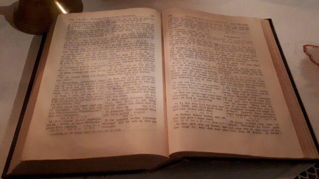 Digitala bibelstudier är igång.