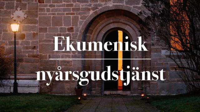 Ekumenisk nyårsgudstjänst från Havdhems kyrka 1/1 2021