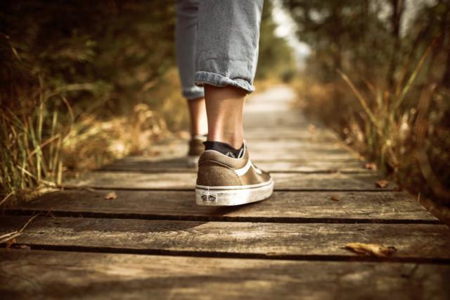 Kom med på promenad!