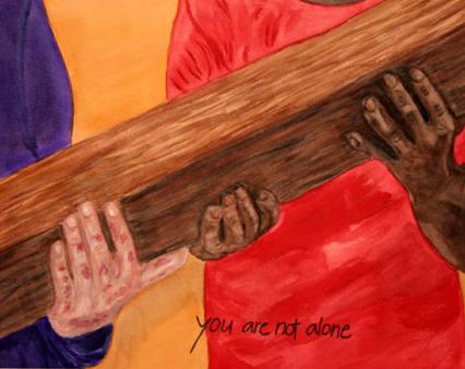 Guds tystnad under Jesu lidande