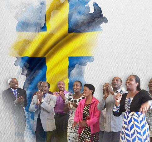 Besök av Böneteam från Tanzania
