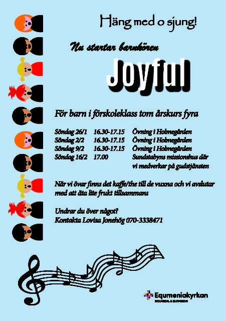 Joyful – barnkör