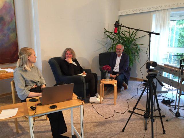 Söndag kväll kl 18.00 – Intervju med Anna Gustafsson