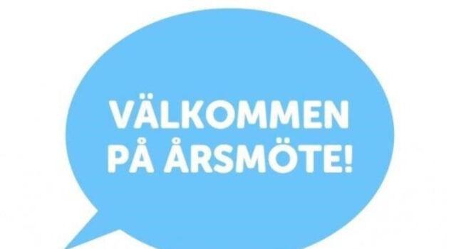 Årsmöte 17 juni kl 19.00 Holmegården