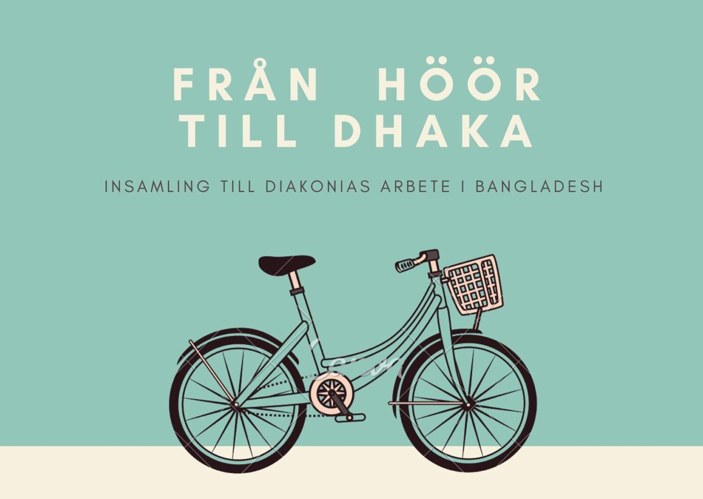 Från Höör till Dhaka, cykelprojekt