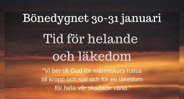 Bönedygn 30 – 31 januari
