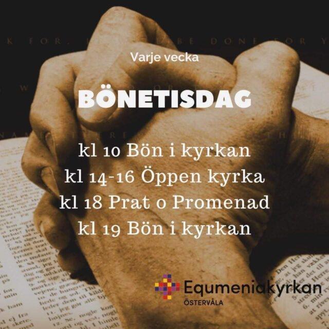 Tisdagar med samtal och bön