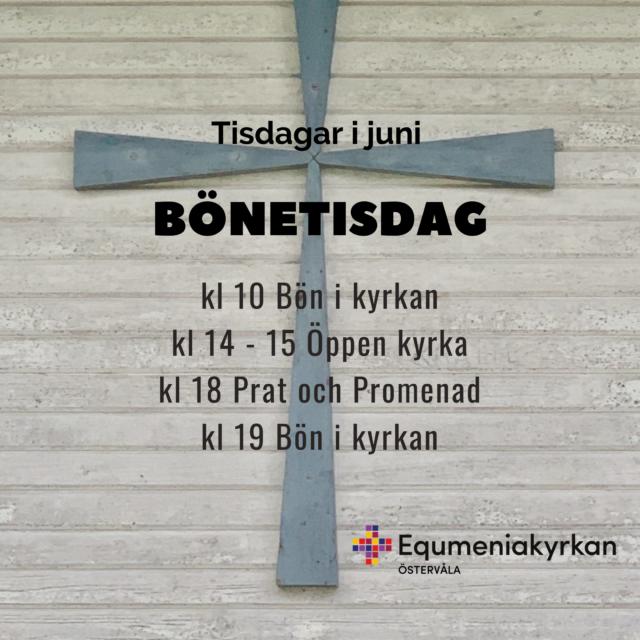 Bön och motion i juni