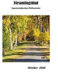 Församlingsblad oktober 2020