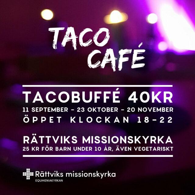 Välkommen till tacocafé