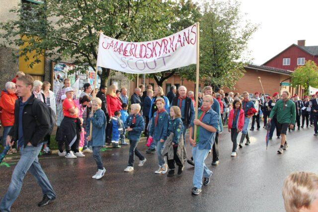 Scoutparaden Kil Hela Veckan