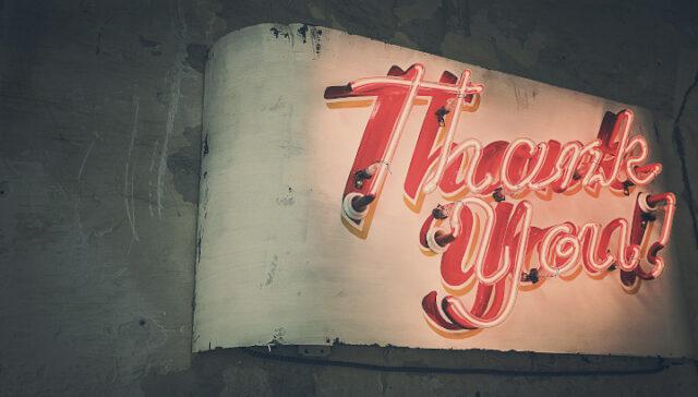 Var inte tacksam för något, var tacksam för allt.