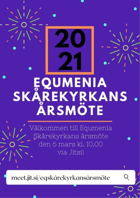 Årsmöte – Equmenia Skårekyrkan