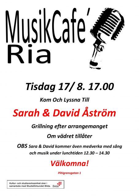 MusikCafé RIAs trädgård! // INSTÄLLD