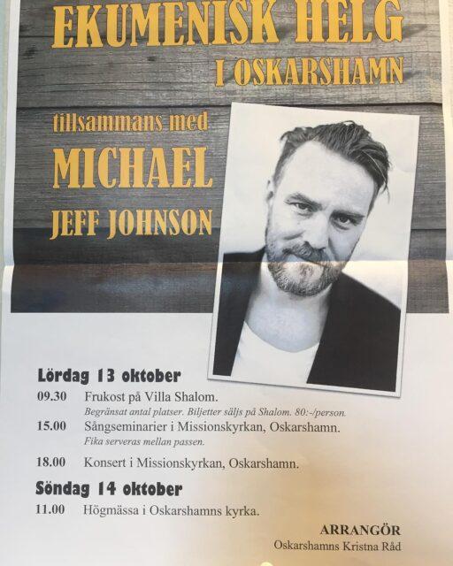Ekumenisk helg: Michael Jeff Johnson
