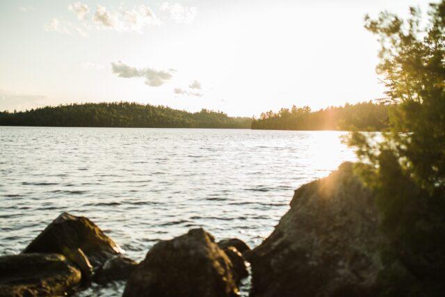 Meditationsvandring vid elljusspåret