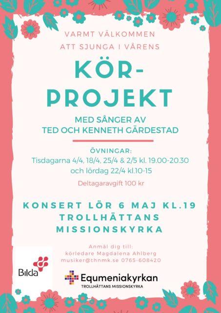 Körprojekt Ted och Kenneth Gärdestad