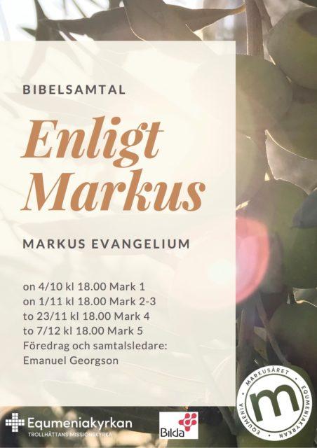 Bibelsamtal enligt Markus