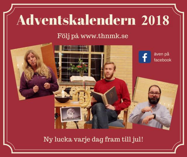 Adventskalendern 2018