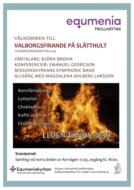 Valborgsmässofirande 2019