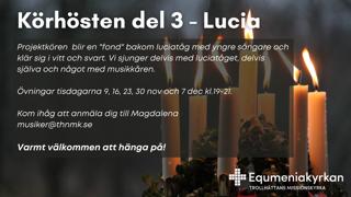 Körhösten del 3: Lucia
