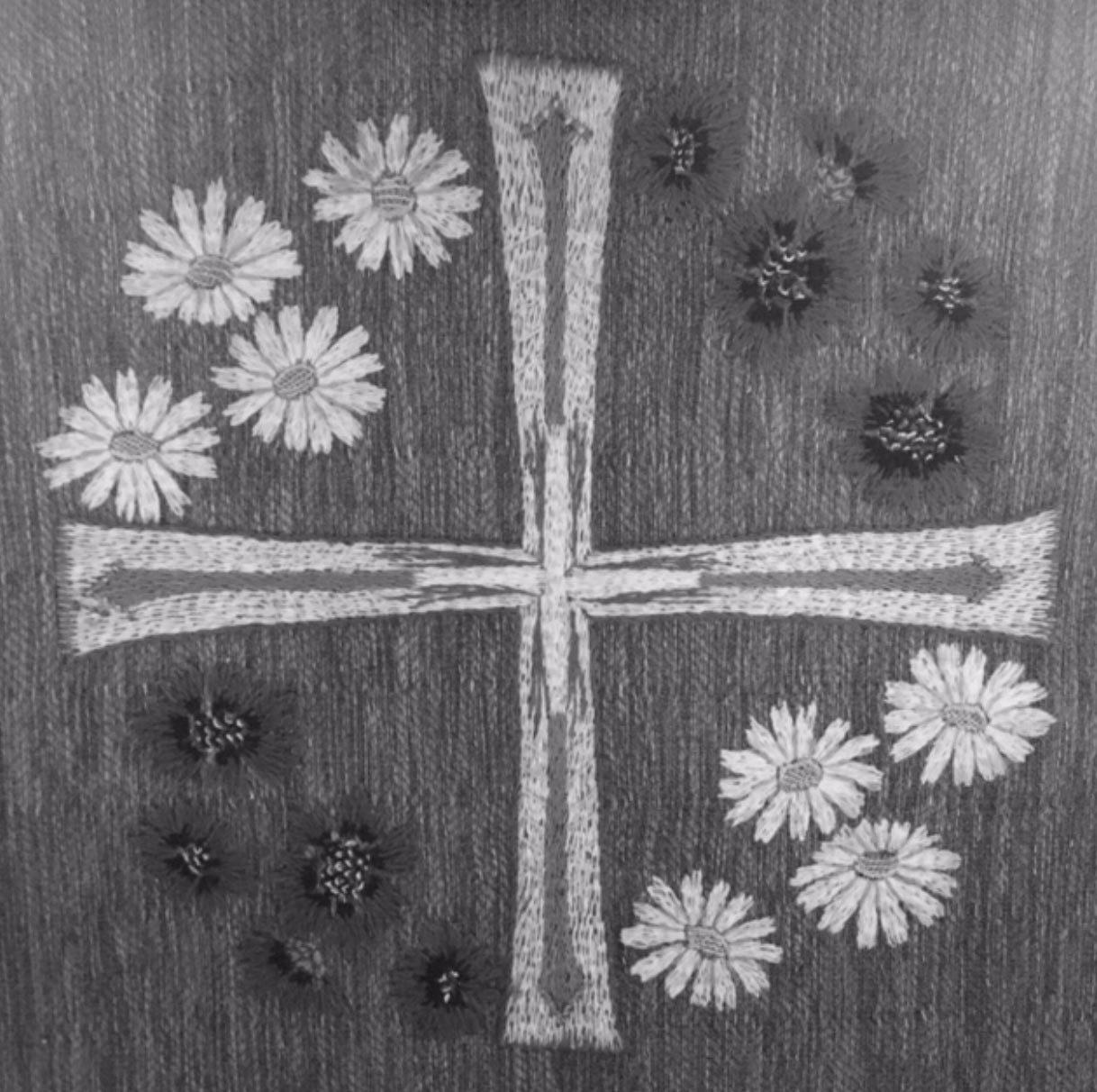 Kors och blommor