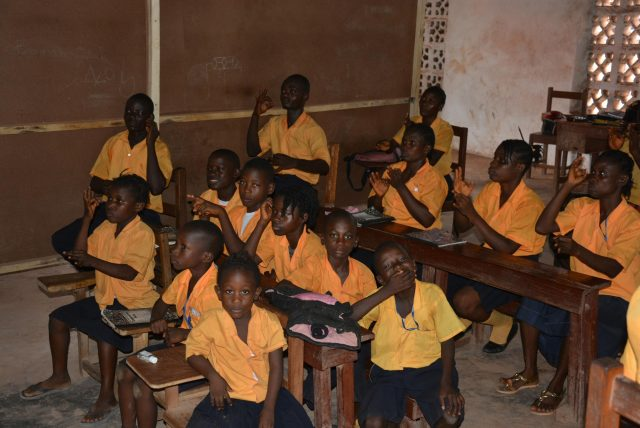 Projekt - Hope for deaf skolklass