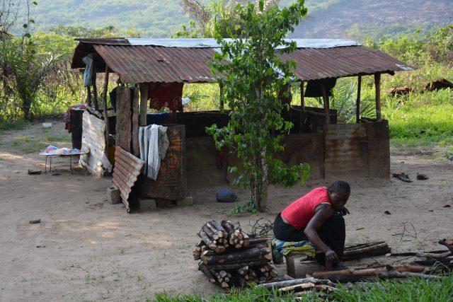 Projekt - hus på landsbygden