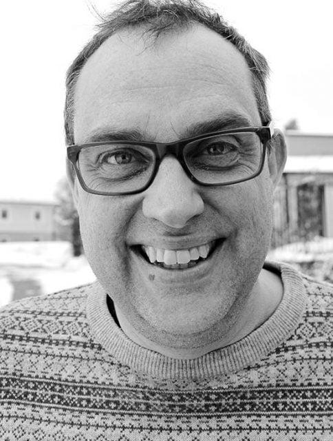 Rickard Lundgren jobbar som församlingsplanterare