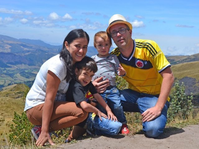 Familjen Hermansson, missionärer
