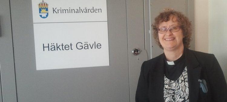 Fängelsepastor vid häktet i Gävle