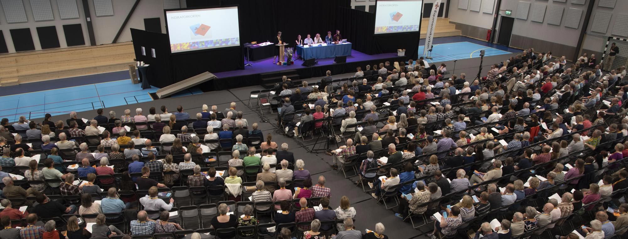 Foto från Kyrkokonferensen