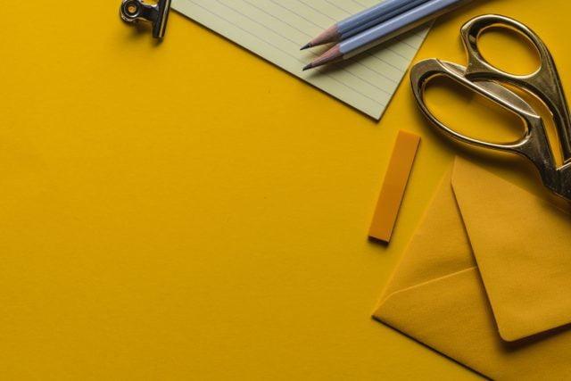Sax, papper och penna