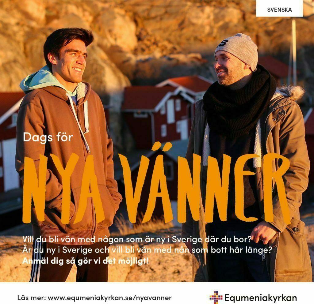Nya vänner - folder - svenska
