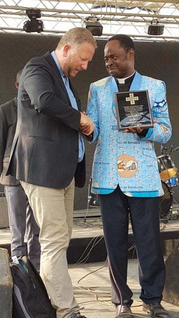 CEBU firar 100 års jubileum i Kongo Kinshasa
