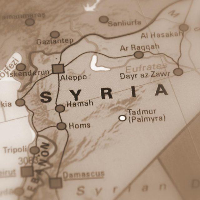 Var med i förbön för nordöstra Syrien