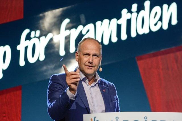 Onsdag 15 augusti Jonas Sjöstedt