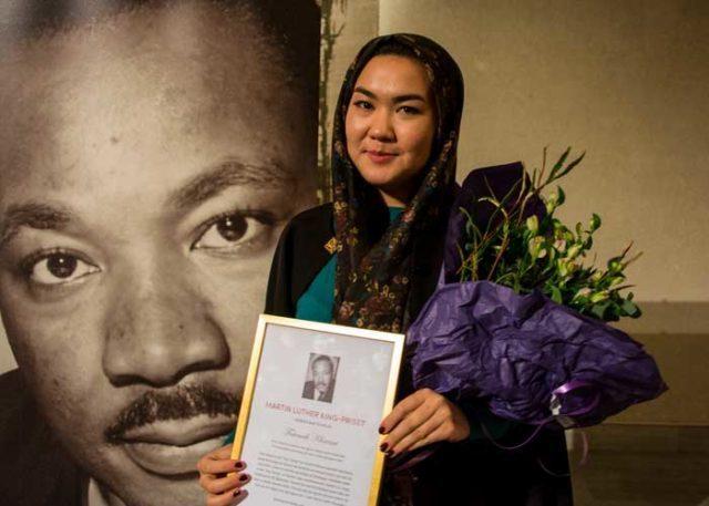 Bilder från Martin Luther King-priset