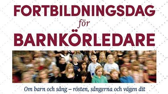 Fortbildningsdag för barnkörledare