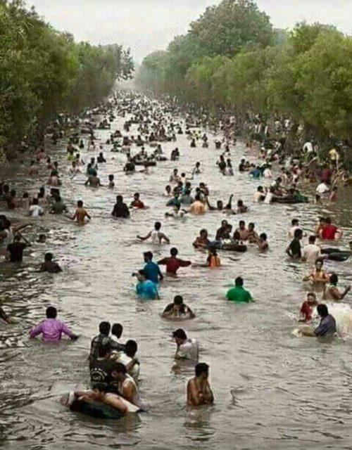 Översvämningar i Indien