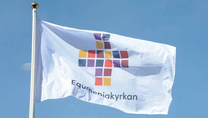 Equmeniakyrkan flagga