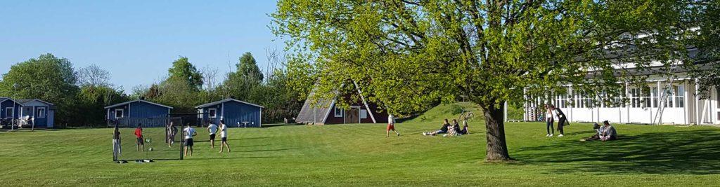 Klintagårdens Camping utomhus sommar