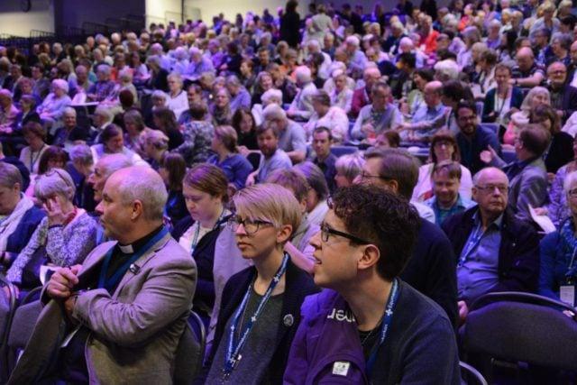Samlingar inför kyrkokonferensen