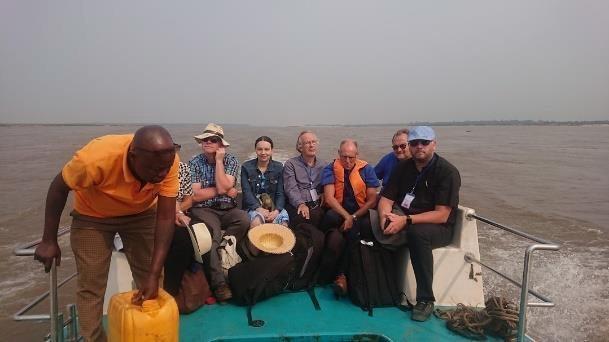Tillbaka i Kongo igen, nu i Kinshasa