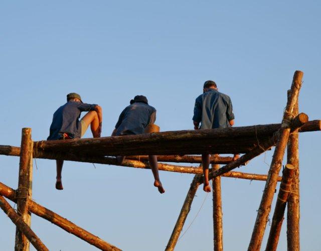 Scouter på en plattform