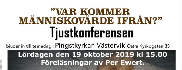 Välkommen till TJUST-konferensen i Västervik