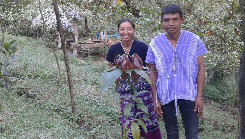 Duangdet och Guneya i Thailand